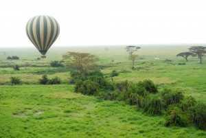Tansania Urlaub Ballonfahrt, Safari, Nationalpark Serengeti, Tansania