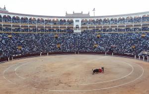Spanien Urlaub Stierkampfarena