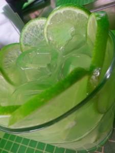 Essen und Trinken Caipirinha