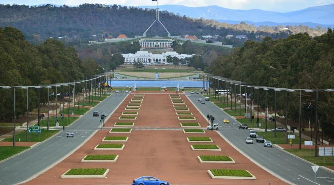 Australien Urlaub Canberra