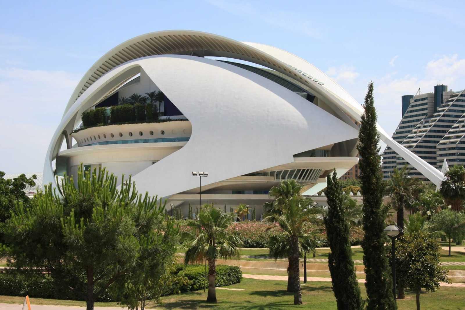 Spanien Urlaub City-of-arts-and-sciences, Valencia