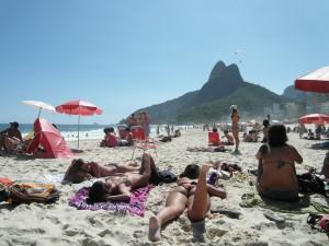 Brasilien Urlaub Strand Copacabana