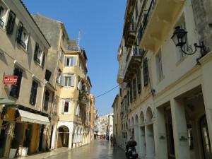 Korfu Straße
