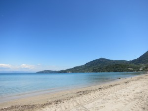 Griechenland Urlaub  Korfu Strand