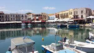 Griechenland Urlaub Iraklio Hafen