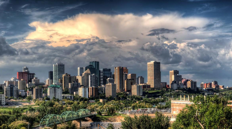 Edmonton Skyline, Kanada