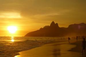 Brasilien Urlaub Ipanema Beach