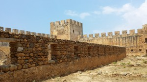 Griechenland Urlaub  Kreta Ruinen