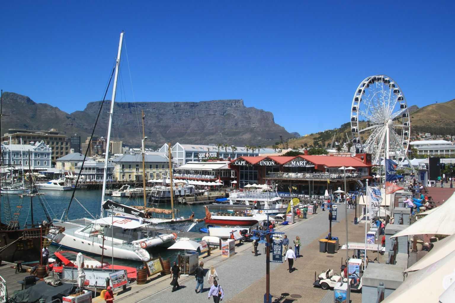 Südafrika Urlaub Waterfront