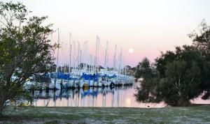 Australien Urlaub Sonnenuntergang