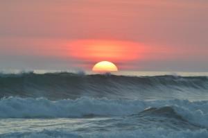 Sonnenuntergang, Spanien