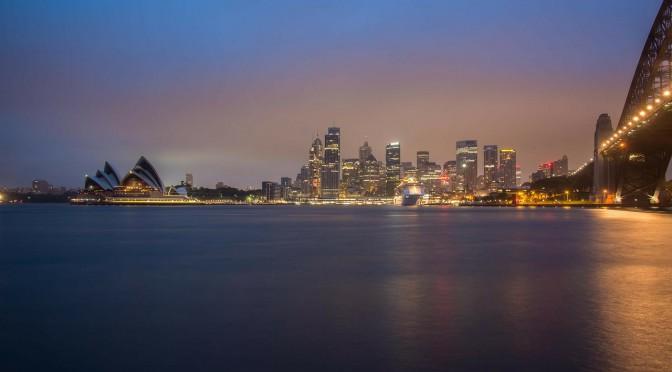 Australien Urlaub Sydney Skyline
