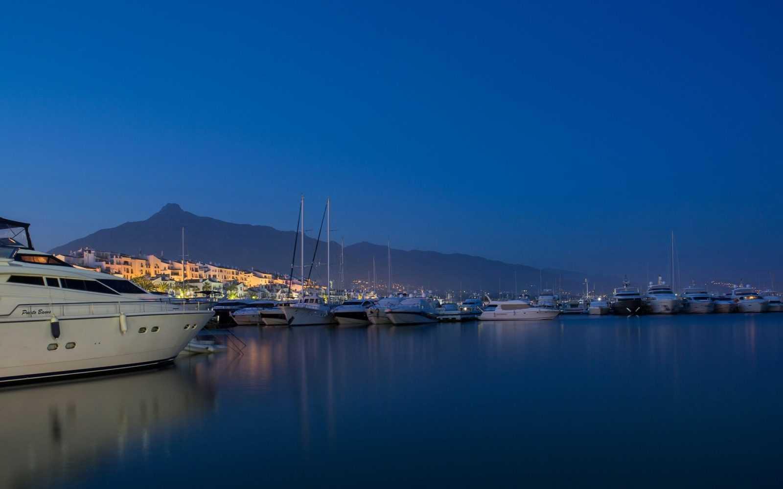 Hafen, Marbella, Spanien