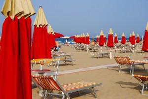 Rimini Urlaub Strand