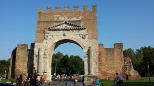 Rimini Urlaub Brücke