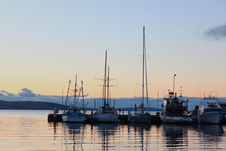 Australien Urlaub Hafen, Hobart