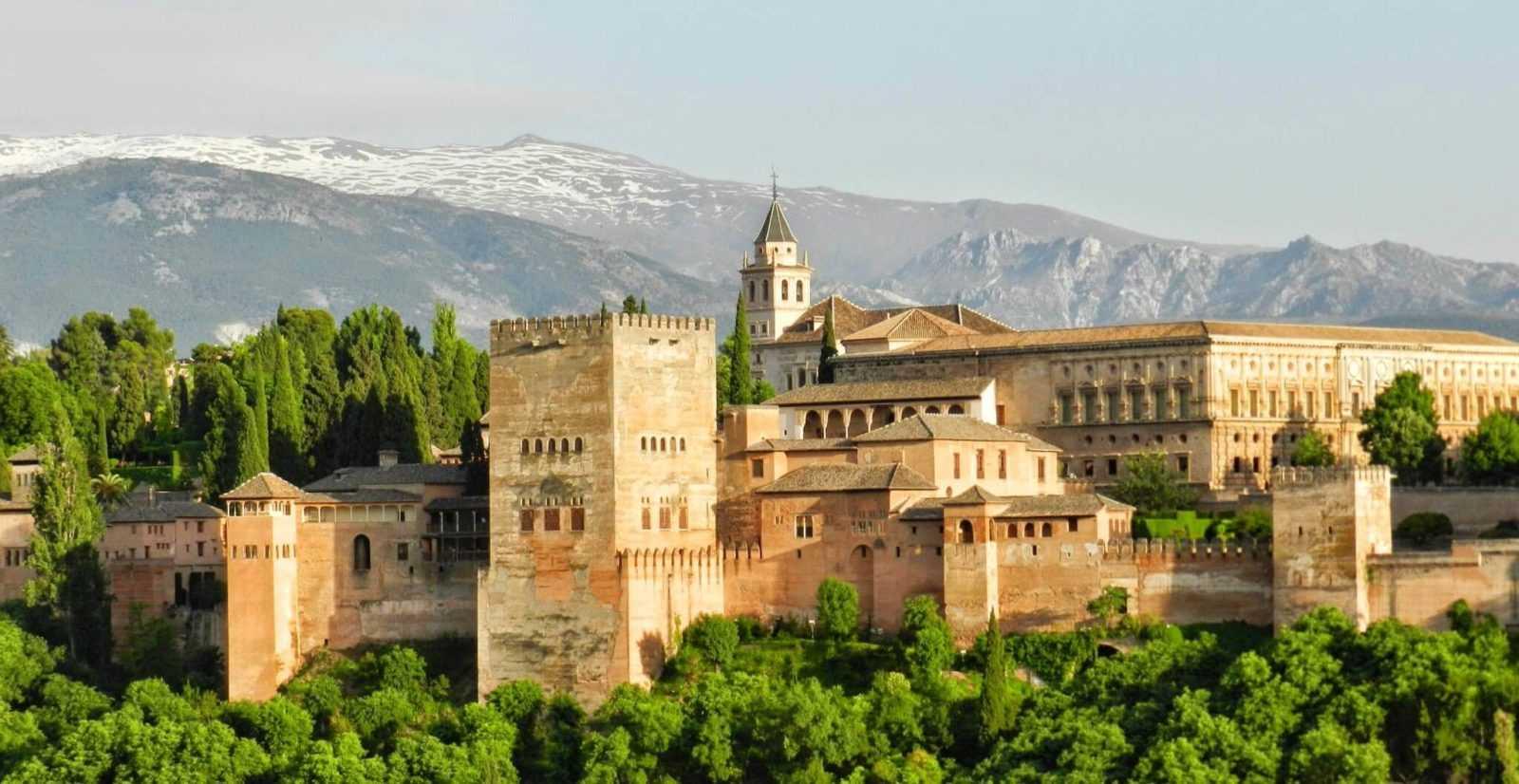 Spanien Urlaub Granada, Aalhambra
