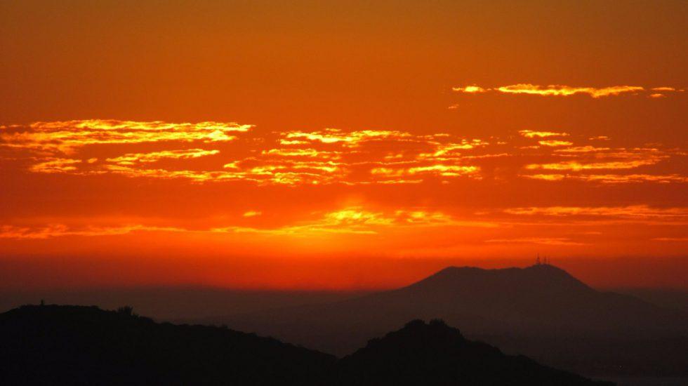 Brasilien Urlaub Sonnenuntergang