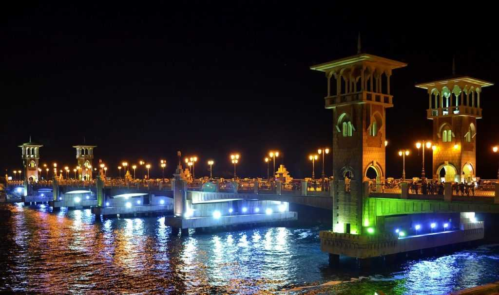 Ägypten Urlaub Alexandria Stanley Bridge