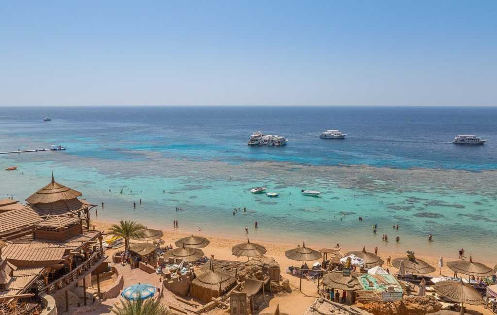 Ägypten Urlaub El-Gouna Boate Strand