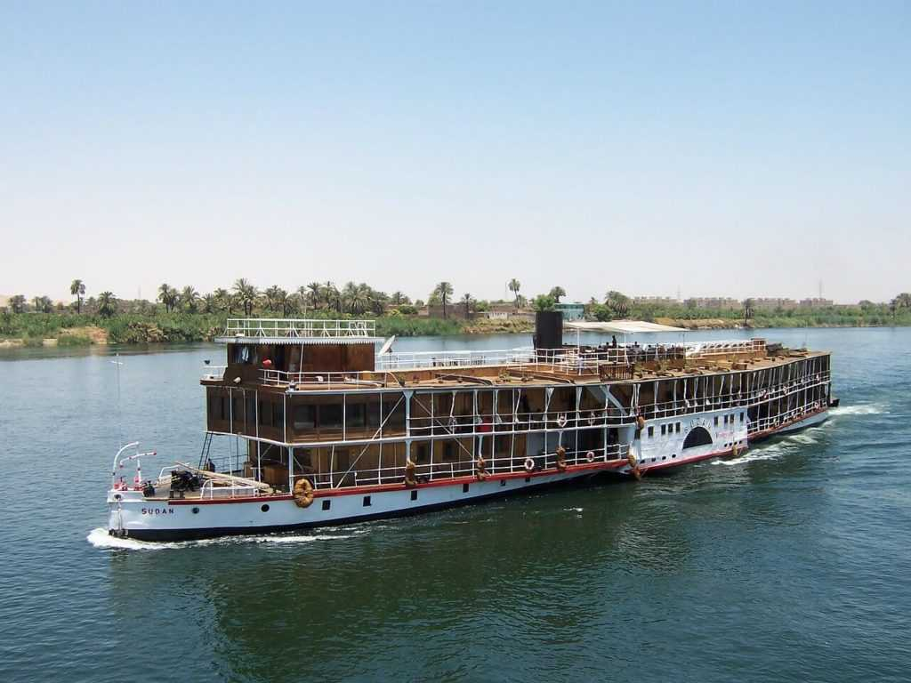Ägypten Urlaub Mural Nil Fluss Kreufahrt