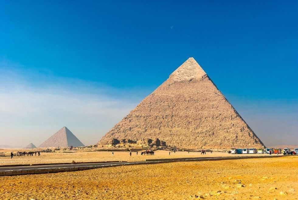 Ägypten Urlaub Pyramide Giza