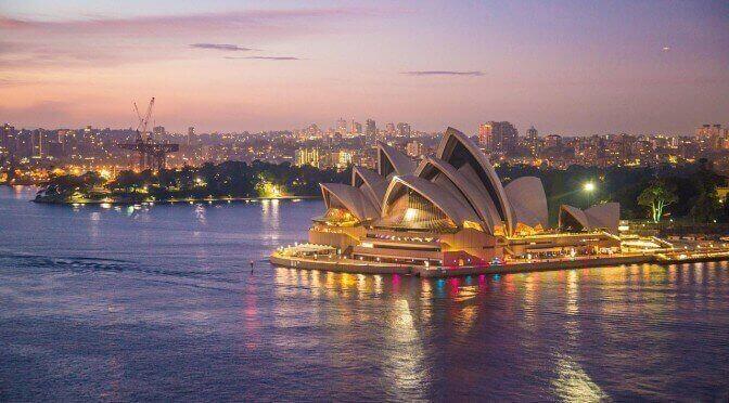 Australien Urlaub Oper Sydney