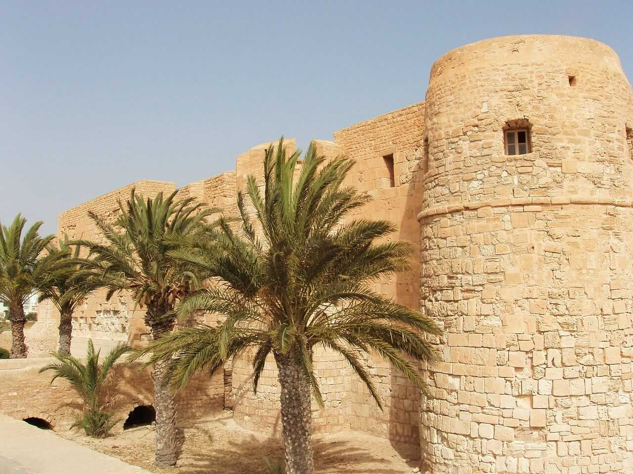 Djerba Urlaub Burgmauer