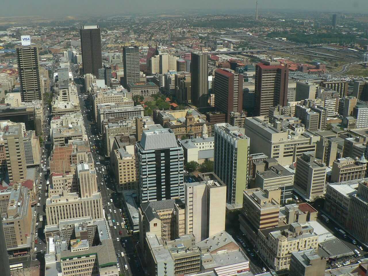 Südafrika Urlaub Johannesburg Skyline