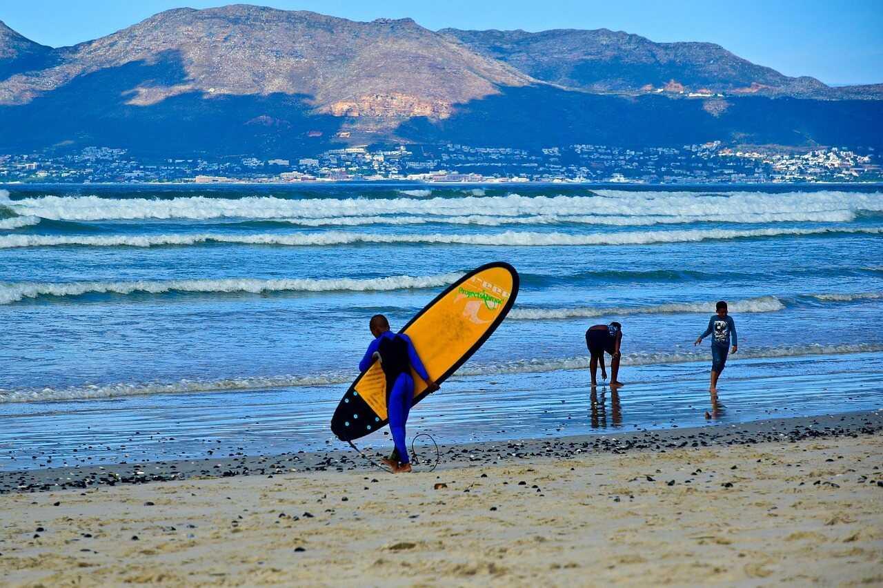 Südafrika Urlaub Kapstadt Surfen