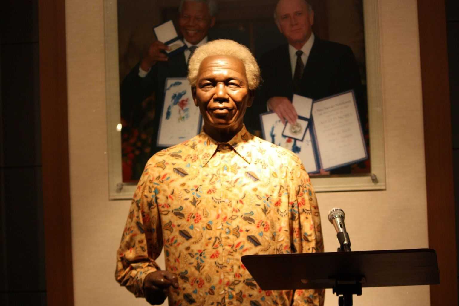 Südafrika Urlaub Nelson Mandela
